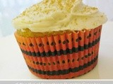 Pumpkin Cupcakes with Brown Sugar Cream Cheese Frosting