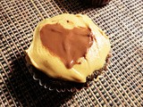 Cocoa Cupcakes With Peanut Butter And Chocolate