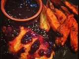 Chicken with Blueberry and Hot Pepper Sauce