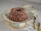Orange Juice, Pine Nut Bundt Cake #BundtBakers