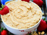 3 ingredients vanilla peanut butter dip recipe