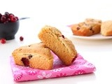Cranberry Scones (vegan)