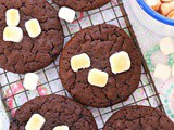 Hot chocolate and marshmallows cookies recipe