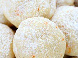 Melt-in-your-mouth orange vanilla cookies recipe