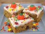 Amish Pumpkin Bars with Cream Cheese Frosting #PumpkinWeek