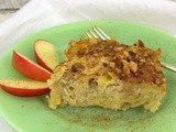 Apple Noodle Kugel #AppleWeek