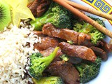 Beef with Broccoli #SundaySupper