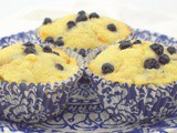 Blueberry Kumquat Muffins #MuffinMonday