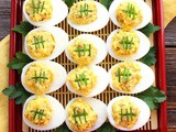 Bratwurst Deviled Eggs