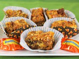 Butterfinger Crunch Cookie Bars #Choctoberfest #Giveaway
