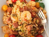 Cajun Hambalaya for #Sunday Supper