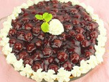 Cherry Cream Cheese Pie #DairyMonth