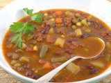Chuckwagon Soup (Chili Vegetable) for #SoupSwappers