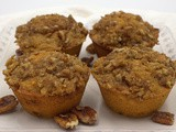 Cinnamon Sweet Potato Muffins #MuffinMonday