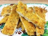 Cornmeal Crusted Oven Fried Chicken