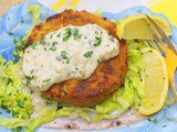 Crab Cakes with Tartar Sauce for #SundaySupper