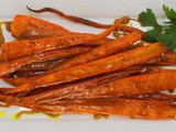 Curry Roasted Carrots #ImprovCooking