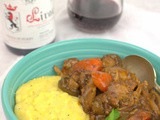 Duck Ragout with Creamy Polenta #WinePW