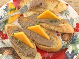 Easy Chicken Liver Pâté for #SundaySupper