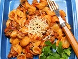 Easy Pasta with Italian Sausage and Mushrooms