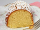 Eggnog Pound Cake #Bundt Bakers