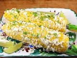 Elote – Mexican Grilled Corn