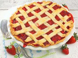 Fresh Strawberry Pie #PiDay
