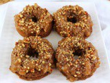 German Chocolate Sauerkraut Baked Donuts