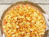 Ghost Cheddar Popcorn #HalloweenRecipes