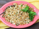 Greek Lemon Cauliflower Pilaf #RecipeMakeover