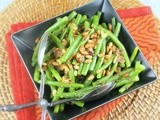 Green Beans with Caramelized Shallots and Pine Nuts