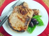 Grilled Brined Pork Chops