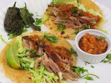 Grilled Duck Tacos with Salsa Naranja and a #Giveaway for #CookoutWeek