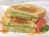 Grilled Guacamole and Cheese #NationalGrilledCheeseDay
