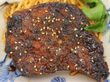 Grilled Hoisin Pork Chops