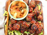 Grilled Korean Meatballs for #SundaySupper