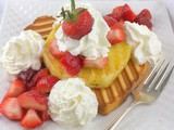 Grilled Strawberry Pineapple Shortcake #FantasticalFoodFight