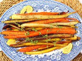Honey Roasted Carrots with Lemon and Herbs