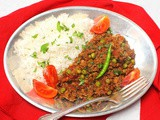 Kheema Mattar: Indian Spiced Beef with Peas #src