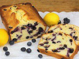 Lemon Blueberry Bread #BreadBakers