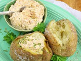 Loaded Salt Crusted Jacket Potatoes
