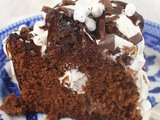 Marshmallow Hot Chocolate Bundt Cake #BundtBakers