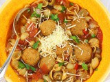 Meatball Soup #SoupWeek