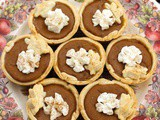 Mini Pumpkin Pies #RogueMuffinMonday