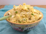 Mustard and Egg Potato Salad #Sunday Supper