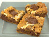 Nutella s'Mores Bars #BakingBloggers