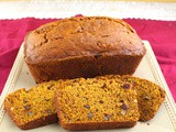Old-Fashioned Pumpkin Bread for #PumpkinWeek