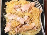 Pork and Sauerkraut in the Crock Pot