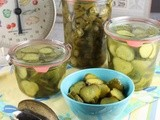 Refrigerator Pickles: Sweets, Dills and Jalapeno Slices