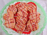 Rose and Cardamom Shortbread Cookies #FilltheCookieJar